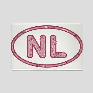 NL Pink Rectangle Magnet