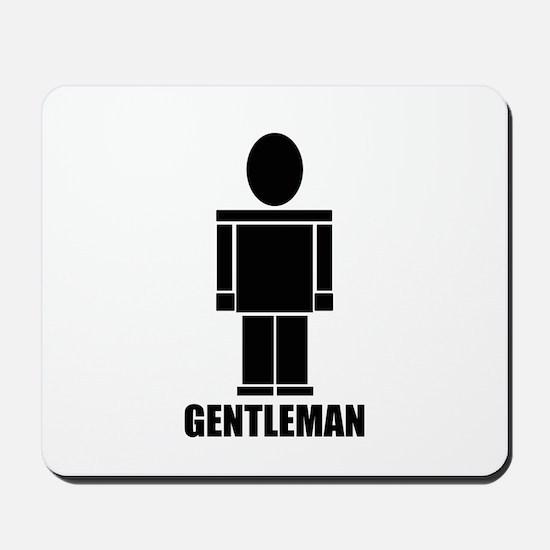 Gentleman Mousepad