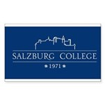 Salzburg College Sticker (Rectangle)