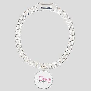 Sexy Wife Charm Bracelet, One Charm