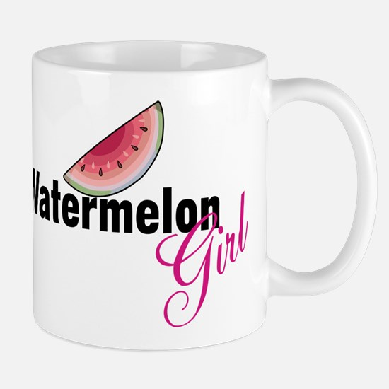 Watermelon Girl Mug