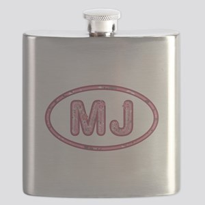 MJ Pink Flask