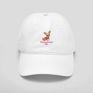 Custom Pink Chihuahua Cap
