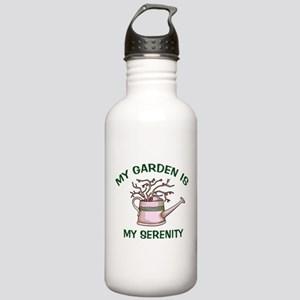 My Garden is My Serenity Stainless Water Bottle 1.