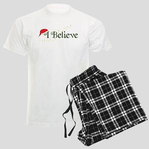I Believe Men's Light Pajamas