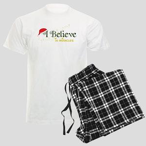 Believe In Miracles Men's Light Pajamas