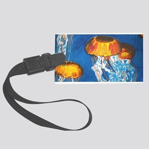Jellyfish Large Luggage Tag