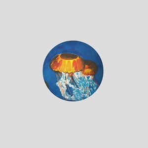 Jellyfish Mini Button