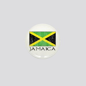 Jamaica Flag Mini Button