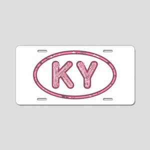 KY Pink Aluminum License Plate