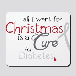 Cure For Diabetes Mousepad