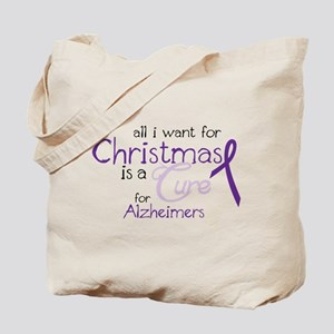 Cure For Alzheimers Tote Bag