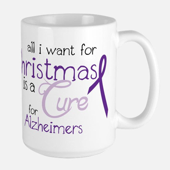 Cure For Alzheimers Large Mug