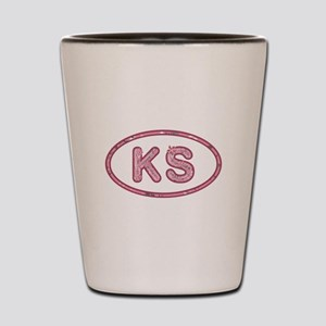 KS Pink Shot Glass