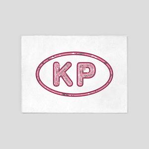 KP Pink 5'x7'Area Rug