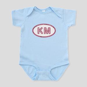 KM Pink Infant Bodysuit