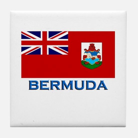 Bermuda Flag Stuff Tile Coaster