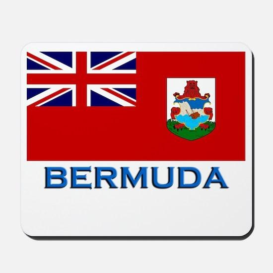 Bermuda Flag Stuff Mousepad