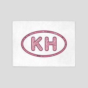 KH Pink 5'x7'Area Rug