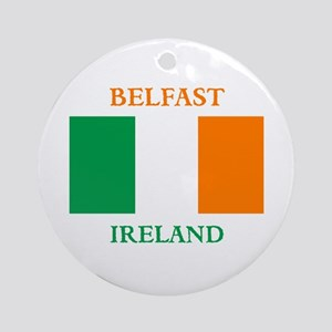 Belfast Ireland Ornament (Round)