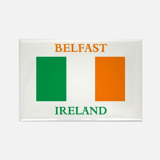 Belfast Ireland Rectangle Magnet