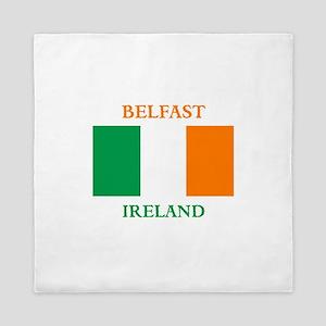 Belfast Ireland Queen Duvet