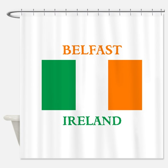 Belfast Ireland Shower Curtain