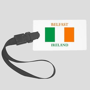 Belfast Ireland Large Luggage Tag
