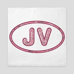 JV Pink Queen Duvet