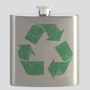 Vintage Recycle Flask