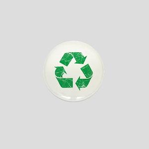 Vintage Recycle Mini Button