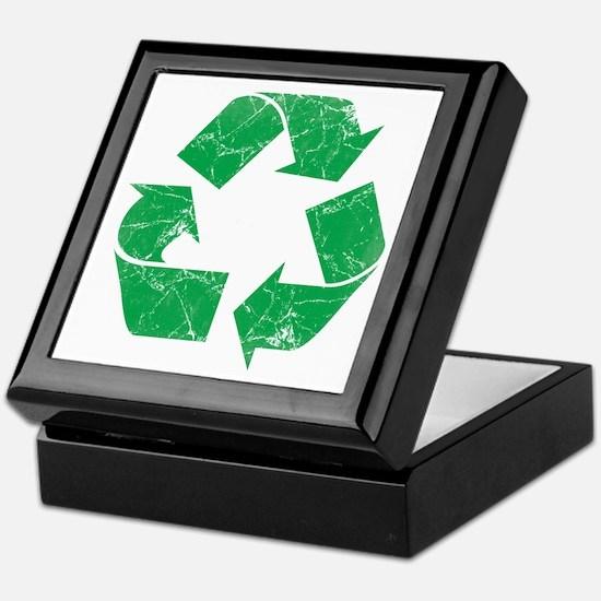 Vintage Recycle Keepsake Box