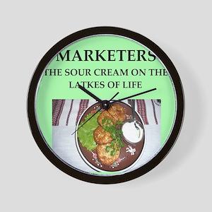 marketer Wall Clock