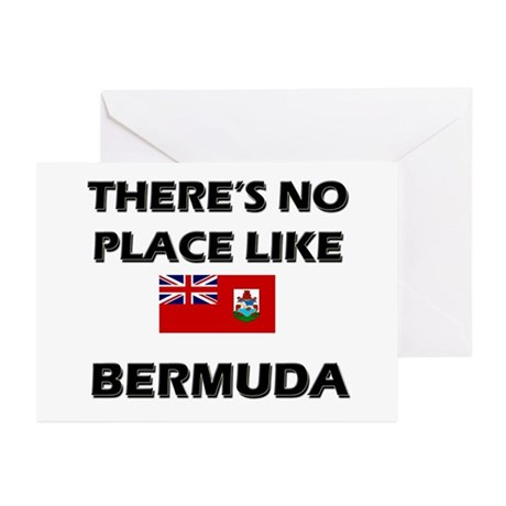 There Is No Place Like Bermuda Greeting Cards (Pac