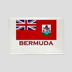 Bermuda Flag Merchandise Rectangle Magnet