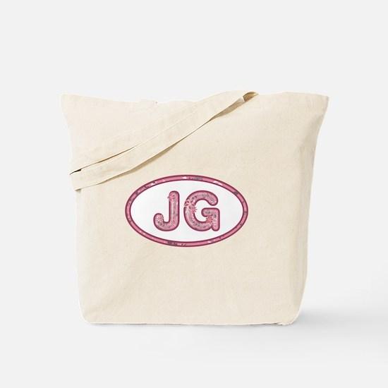 JG Pink Tote Bag