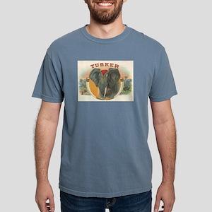 Tusker Elephant Mens Comfort Colors Shirt