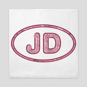 JD Pink Queen Duvet