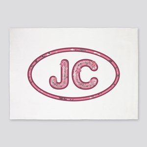 JC Pink 5'x7'Area Rug