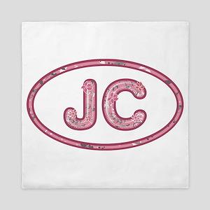 JC Pink Queen Duvet
