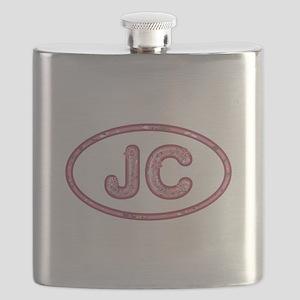 JC Pink Flask