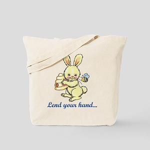 Lend you Hand Tote Bag
