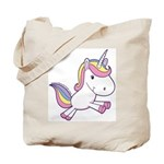Vibrant Vinyls Unicorn Tote Bag