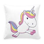 Vibrant Vinyls Unicorn Everyday Pillow