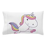 Vibrant Vinyls Unicorn Pillow Case