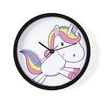 Vibrant Vinyls Unicorn Wall Clock