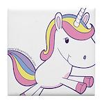 Vibrant Vinyls Unicorn Tile Coaster