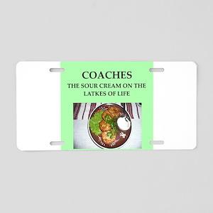 coaches Aluminum License Plate