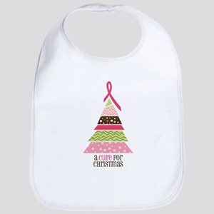 Cure For Christmas Bib