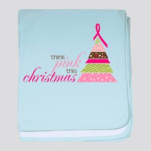 Think Pink baby blanket